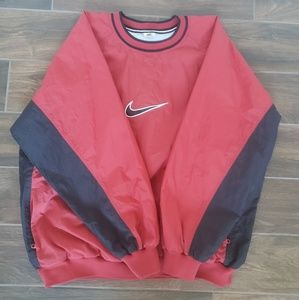 Vintage Nike Swoosh Pullover Windbreaker Jacket
